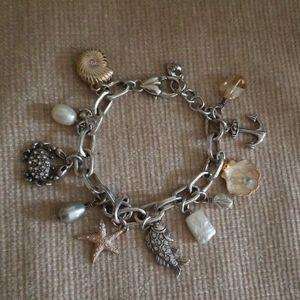 Brighton Malibu sea life ocean charm bracelet